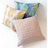 architecture cushion trio