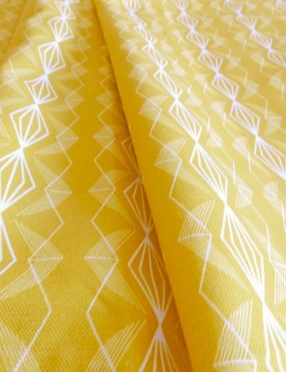 A Perrin Imperial Mustard Fabric