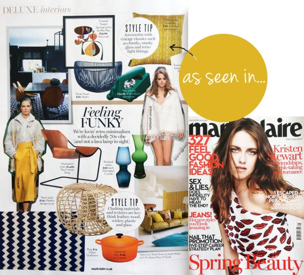 Marie Claire as seen in