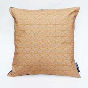 Geometric Triangle Object Cushion