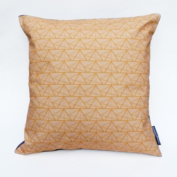 Geometric Triangled Object Cushion