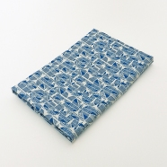 Azulejo Tea Towel folded