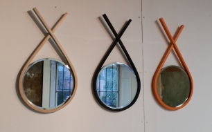 Houthouse: Beatrix Baker's Twist Mirrors
