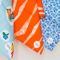 Flowerpress   Alto  Azulejo Tea Towels - Image by Holly Booth
