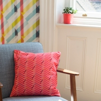 Prism Cushion | Glasshouse Wallpaper - Image by Holly Booth