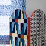 Spectrum Screen | Azulejo Blind - Image by Holly Booth