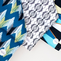 Spectrum | Imperial Diamond | Ikat River Tea Towel - Image by Holly Booth