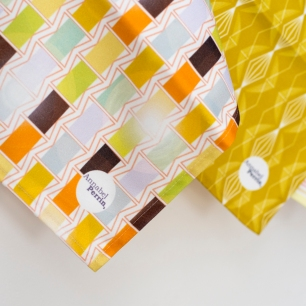 Deckchairs   Imperial Diamond   Sunset Tea Towels - Image by Holly Booth