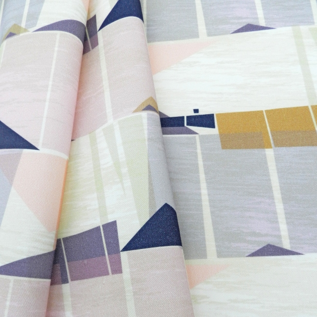 Palmetto Fabric Draped Web