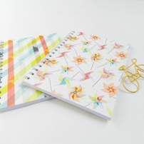 pastel notebook duo